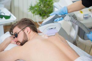 For Men - IPL back hair removal therapy - The Haynes Street Esthetic Clinic, Kalamunda, Perth